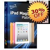 30% de réduction pour iPad Magique Platinum