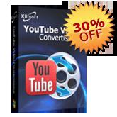30% de réduction pour YouTube Vidéo Convertisseur