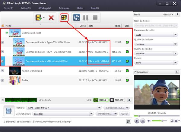 Xilisoft Apple TV Vidéo Convertisseur