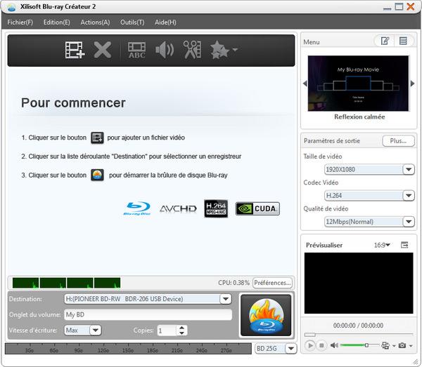 Xilisoft Blu-ray Créateur