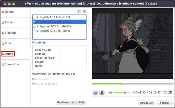 Xilisoft DVD to Video pour Mac