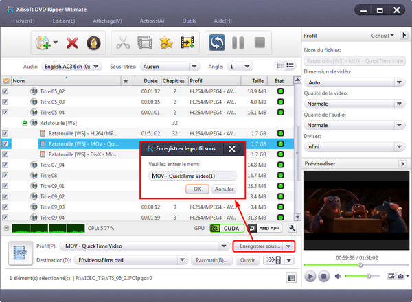 Xilisoft DVD to Video