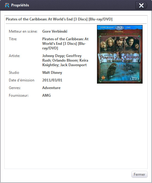 Xilisoft DVD en AVI Convertisseur