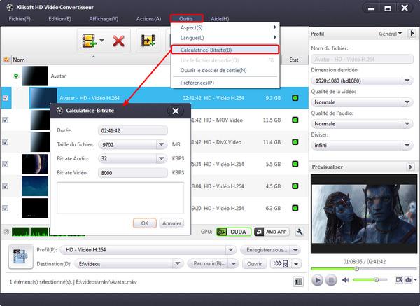 Xilisoft HD Vidéo Convertisseur